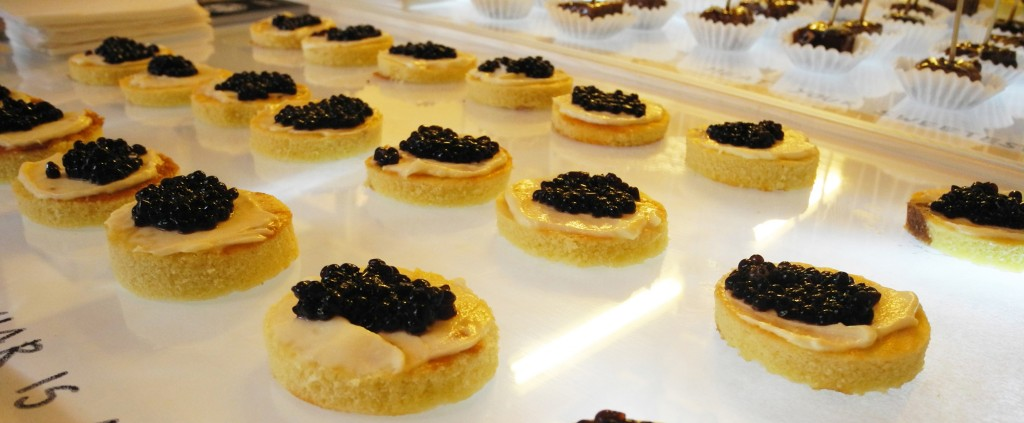 caviar is a question of fish